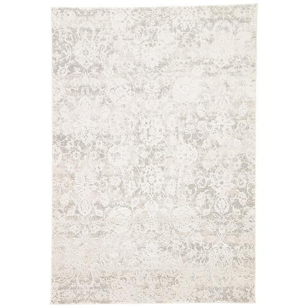 Jaipur Cirque Alonsa Abstract CIQ10 Gray/White Area Rug