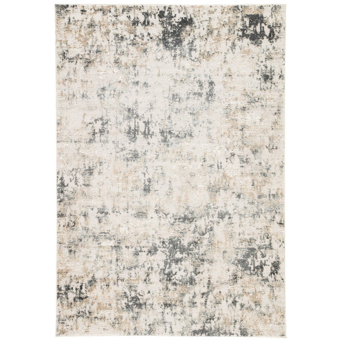 Jaipur Cirque Arvo Abstract CIQ09 White/Dark Gray Area Rug