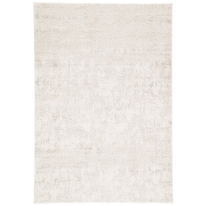 Jaipur Cirque Arvo Abstract CIQ08 Silver/White Area Rug