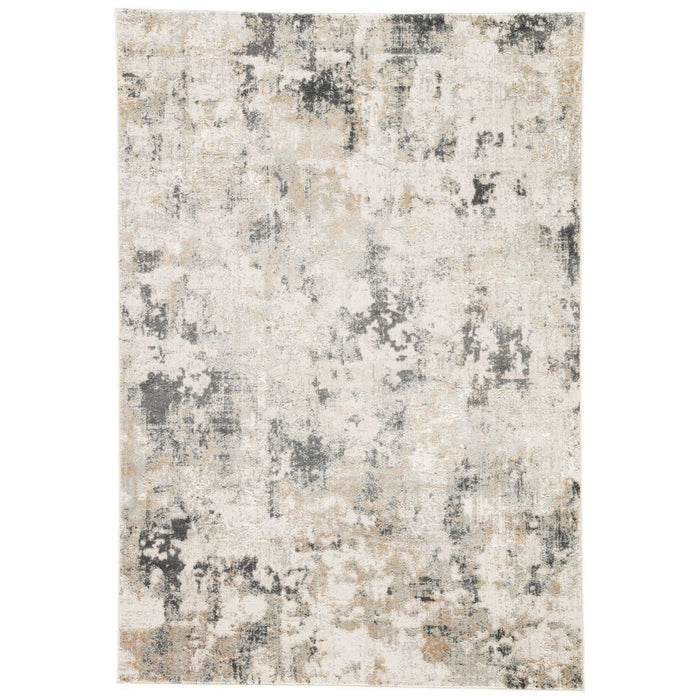 Jaipur Cirque Lynne Abstract CIQ01 White/Gray Area Rug