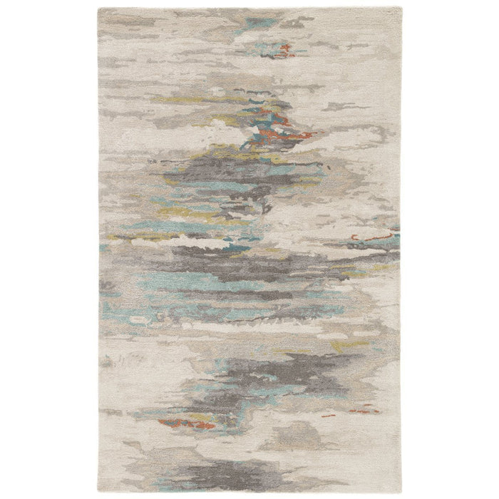 Jaipur Genesis Ryenn Abstract GES06 Gray/Blue Area Rug
