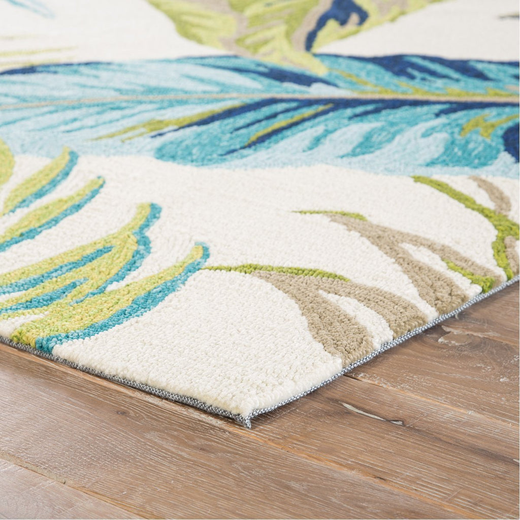 Jaipur Catalina Fraise Floral CAT52 Blue/Green Area Rug