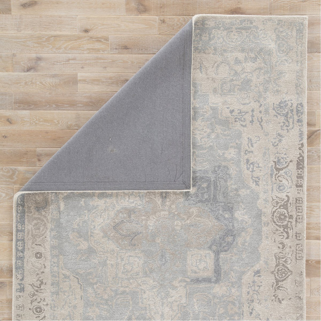 Jaipur Citrine Bronde Medallion CIT04 Gray/Light Blue Area Rug