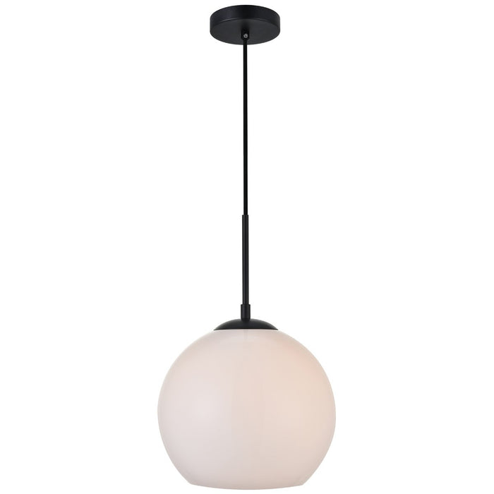 Elegant Lighting Baxter 1-Light 9.8-Inch Pendant