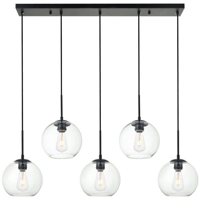 Elegant Lighting Baxter 5-Light Pendant