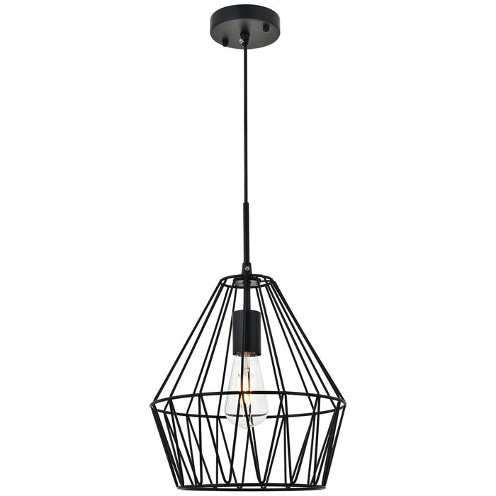 Elegant Lighting Candor 1-Light Pendant