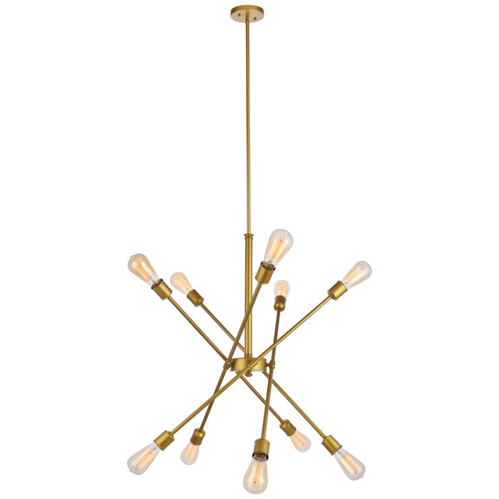 Elegant Lighting Axel 10-Light Pendant