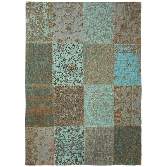 Louis de Poortere Vintage Multi 8006 Sea Blue Rug