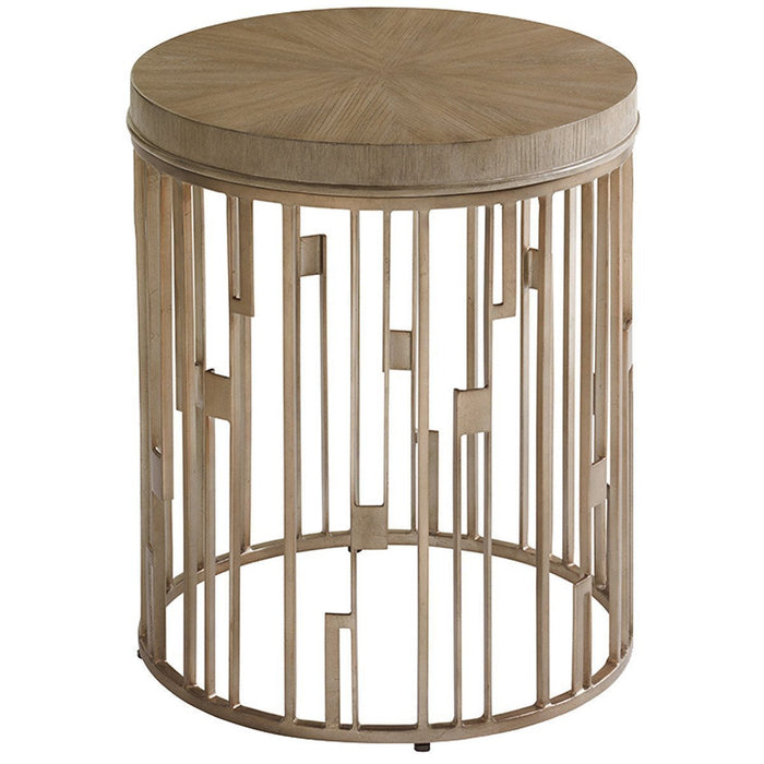 Lexington Shadow Play Studio Round Accent Table