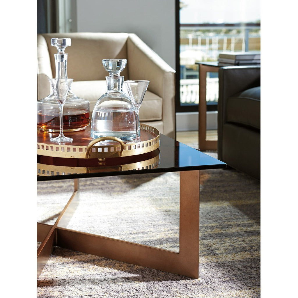 Lexington Zavala Aperture Cocktail Table