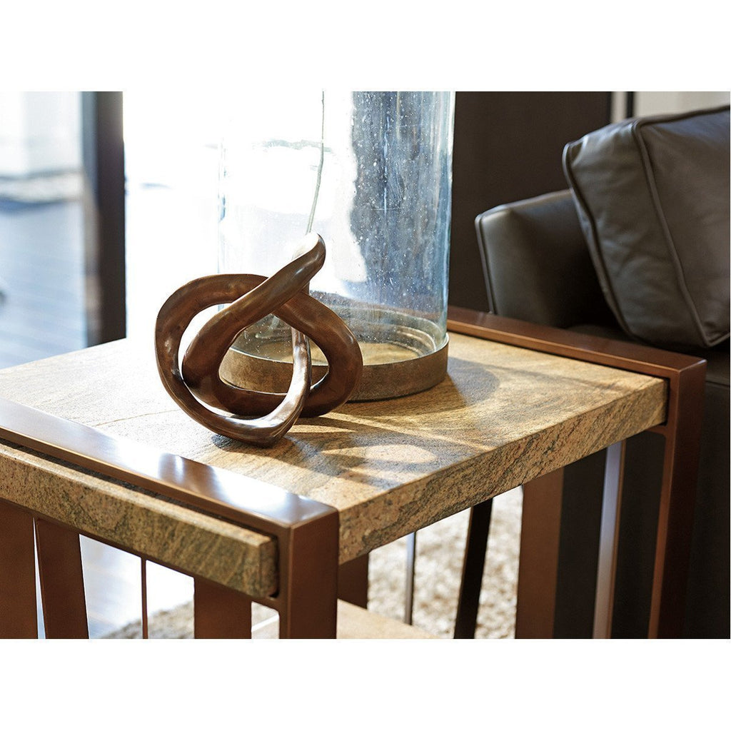 Lexington Zavala Intersect End Table