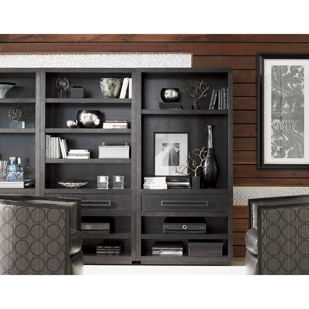 Lexington Carrera Carbon Gray Rossa Bookcase