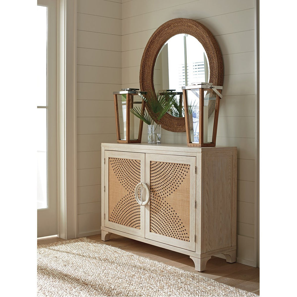 Lexington Barclay Butera Newport Lido Isle Nailhead Hall Chest