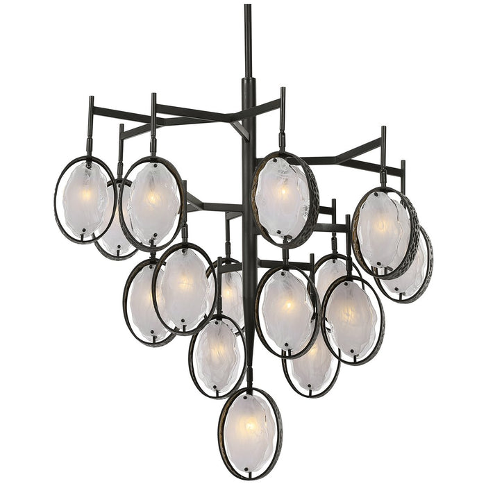 Uttermost Maxin 15-Light Large Bronze Chandelier
