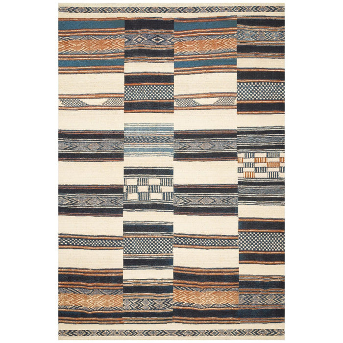 Loloi Mika MIK-04 Ivory Multi Power Loomed Rug