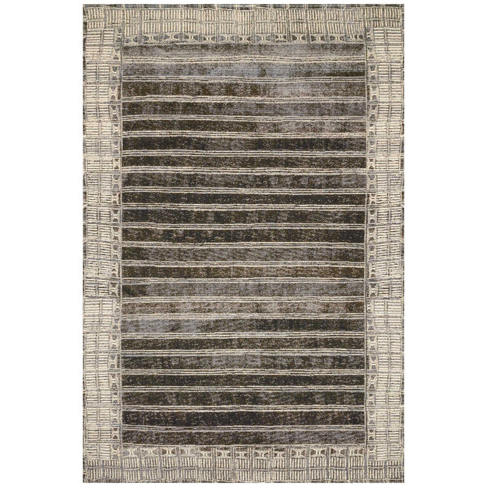 Loloi Mika MIK-07 Charcoal Ivory Power Loomed Rug