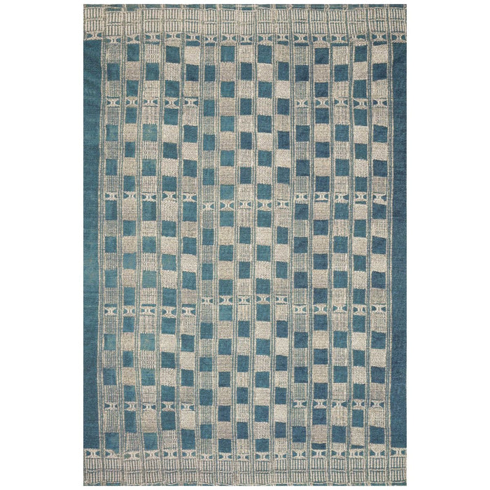Loloi Mika MIK-08 Blue Ivory Power Loomed Rug