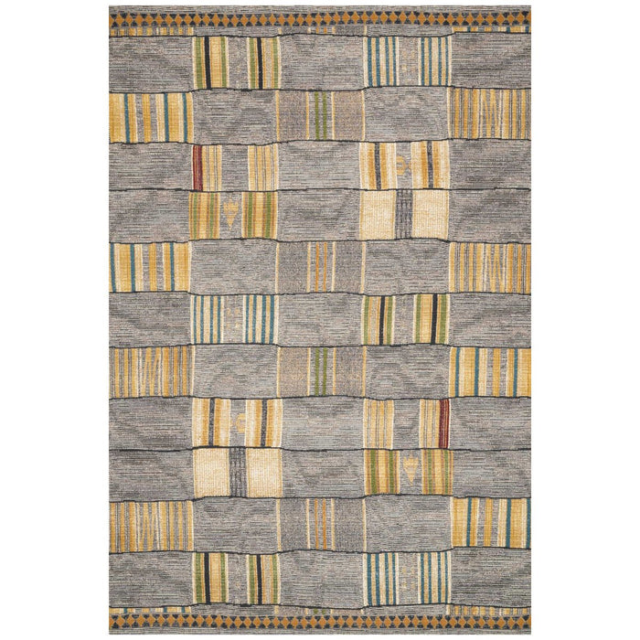 Loloi Mika MIK-10 Granite Multi Power Loomed Rug