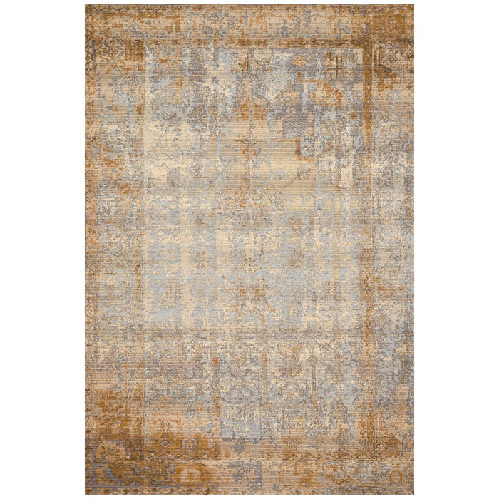 Loloi Mika MIK-11 Antique Ivory Copper Power Loomed Rug