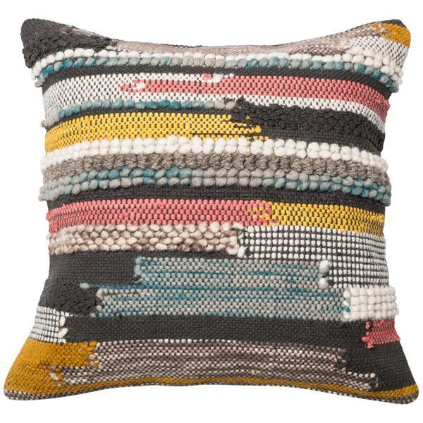 "Loloi P0094 Multi Texture 22"" x 22"" Pillows Set of 2"