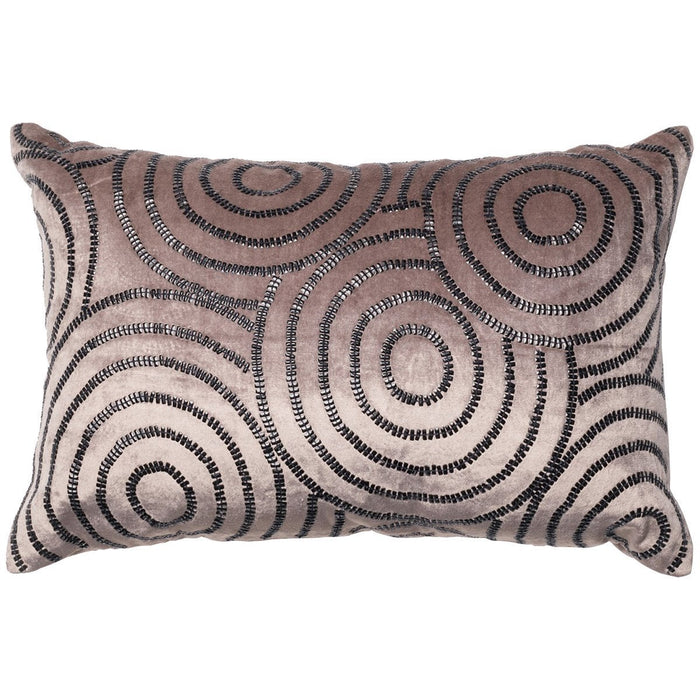 "Loloi P0110 Velvet Beaded 13"" x 21"" Pillows Set of 2"