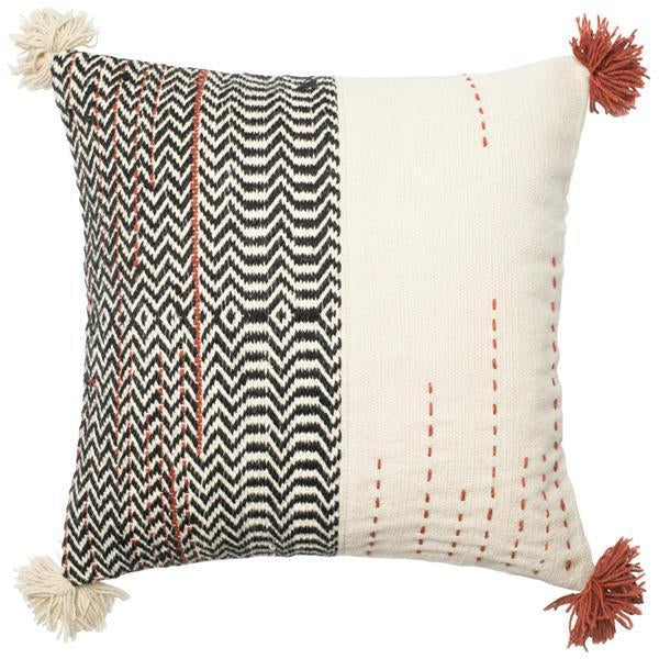"Loloi P0227 Dhurri Style 22"" x 22"" Pillows Set of 2"