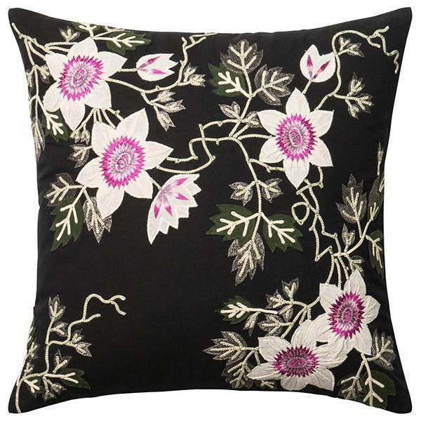 "Loloi P0295 Embroidery on Cotton Base 22"" x 22"" Pillows Set of 2"