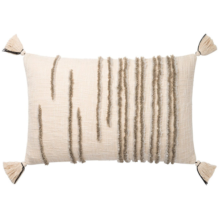 "Loloi P0832 Natural Stone 16"" x 26"" Pillows Set of 2"
