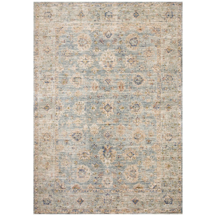 Loloi Revere REV-09 Rug, Light Blue, Multi