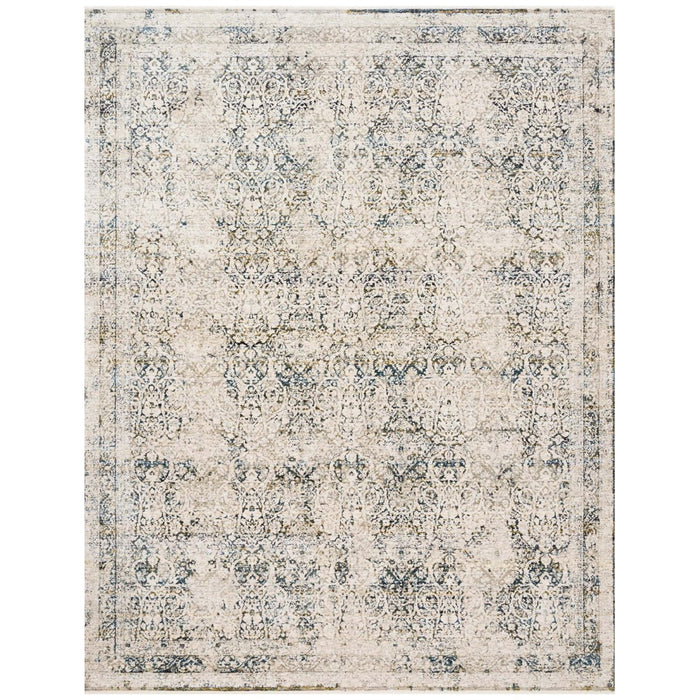 Loloi Theia THE-01 Natural Ocean Power Loomed Rug