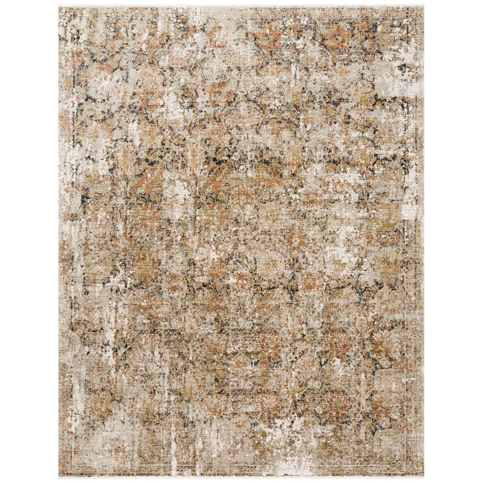 Loloi Theia THE-02 Taupe Gold Power Loomed Rug
