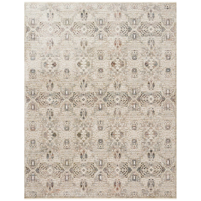 Loloi Theia THE-06 Granite Ivory Power Loomed Rug