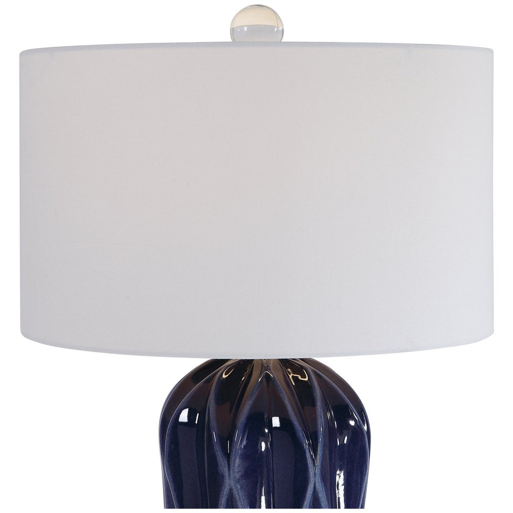 Uttermost Malena Blue Table Lamp