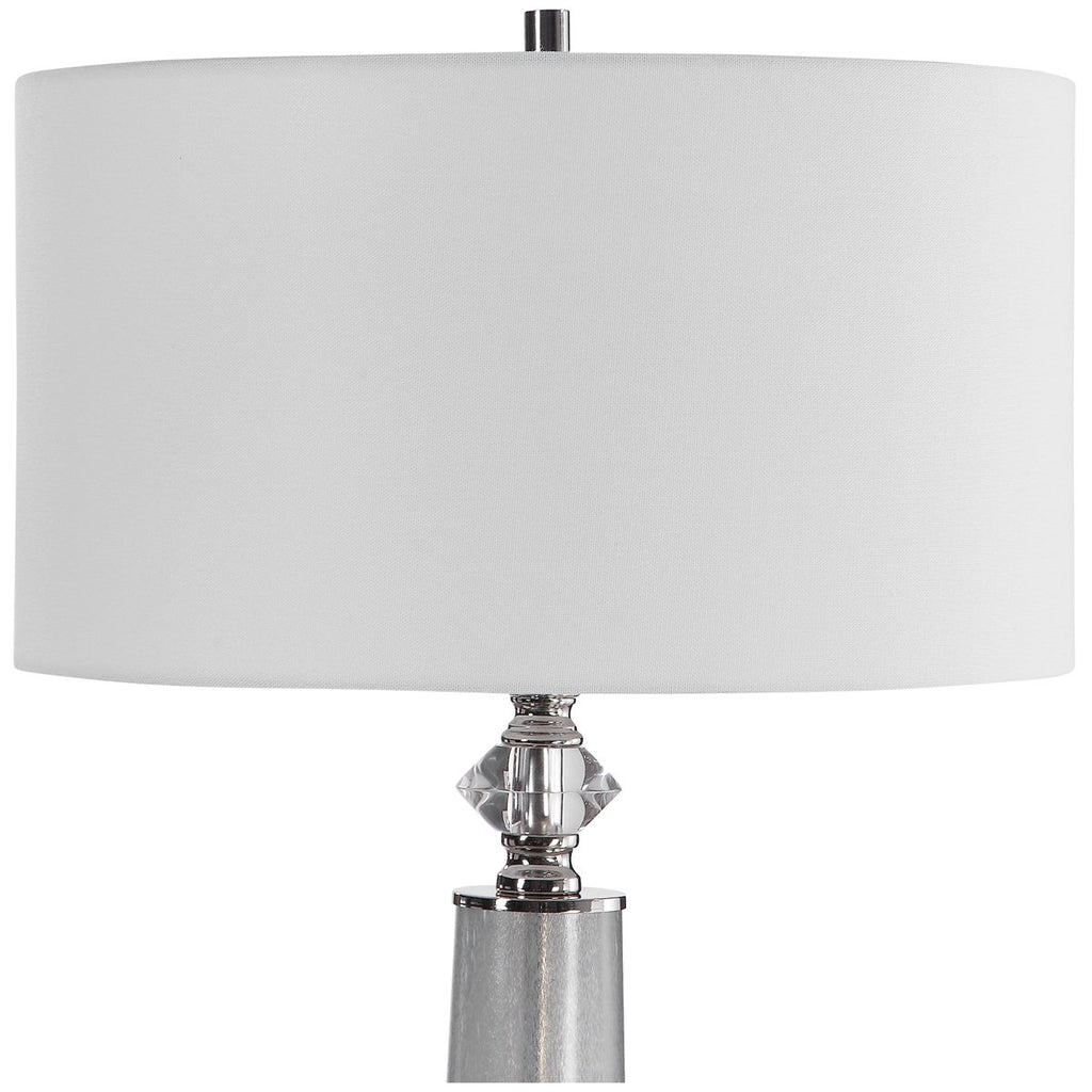 Uttermost Grayton Frosted Art Table Lamp
