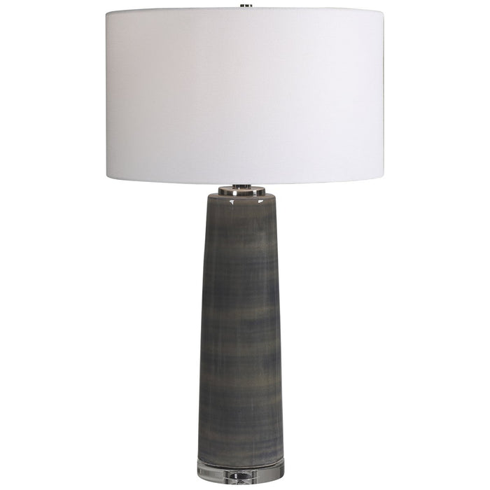 Uttermost Seurat Charcoal Table Lamp