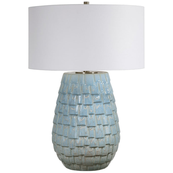 Uttermost Talima Pastel Blue Table Lamp