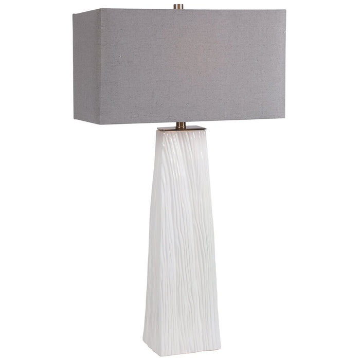 Uttermost Sycamore White Table Lamp
