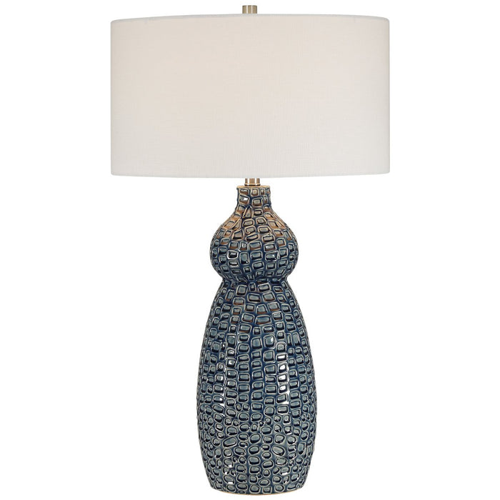 Uttermost Holloway Cobalt Blue Table Lamp