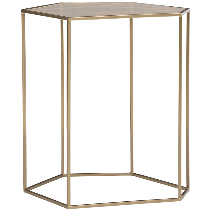 Caracole Modern Edge Vector Accent Table