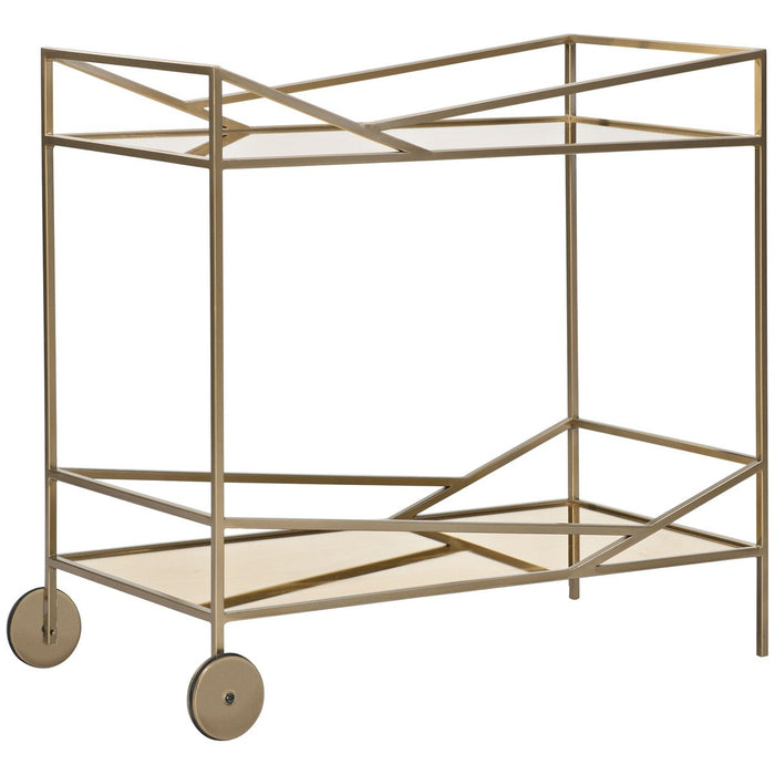 Caracole Modern Edge Vector Bar Cart