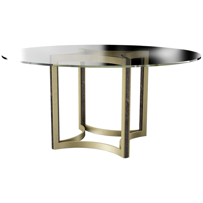 Caracole Modern Artisan Remix Glass Top 60-Inch Table