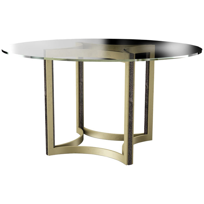 Caracole Modern Artisan Remix Glass Top 54-Inch Table