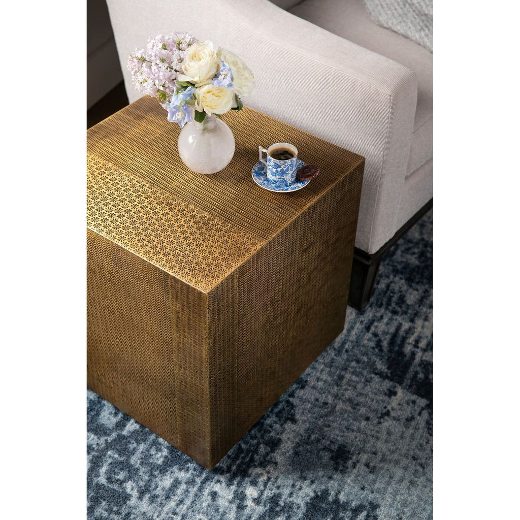 Bungalow 5 Majorel Side Table - Antique Brass
