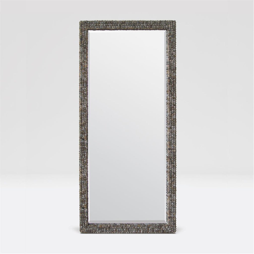 Made Goods Damian Gray Shell Mirror