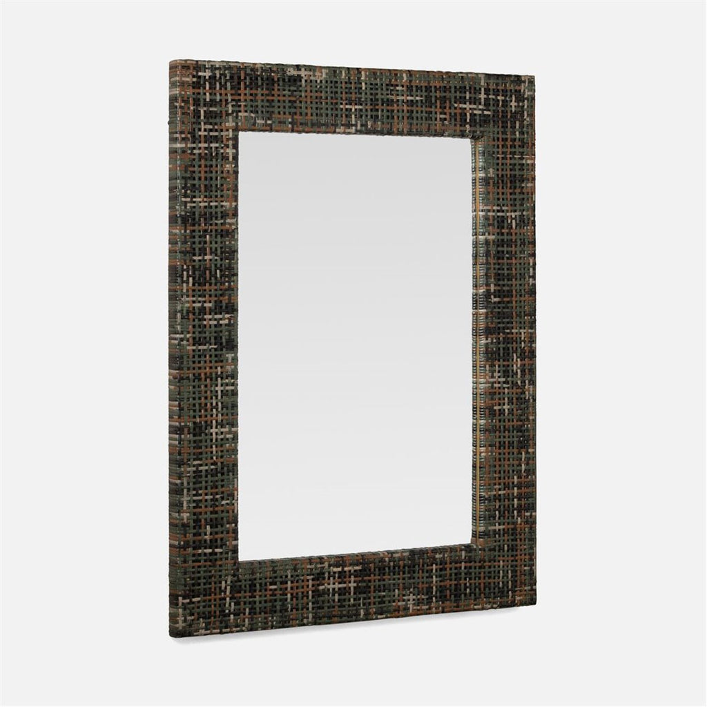 Made Goods Eastwood Peeled Rattan Mirror