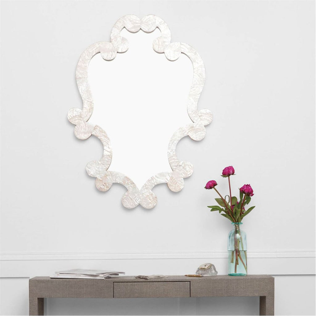 Made Goods Mabel Kabibe Shell Mirror