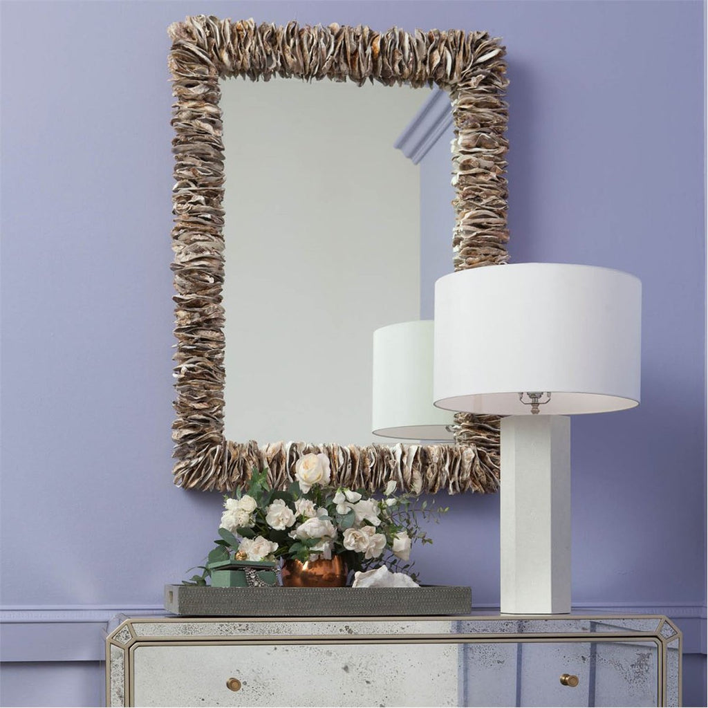 Made Goods Mina Stacked Oyster Mirror