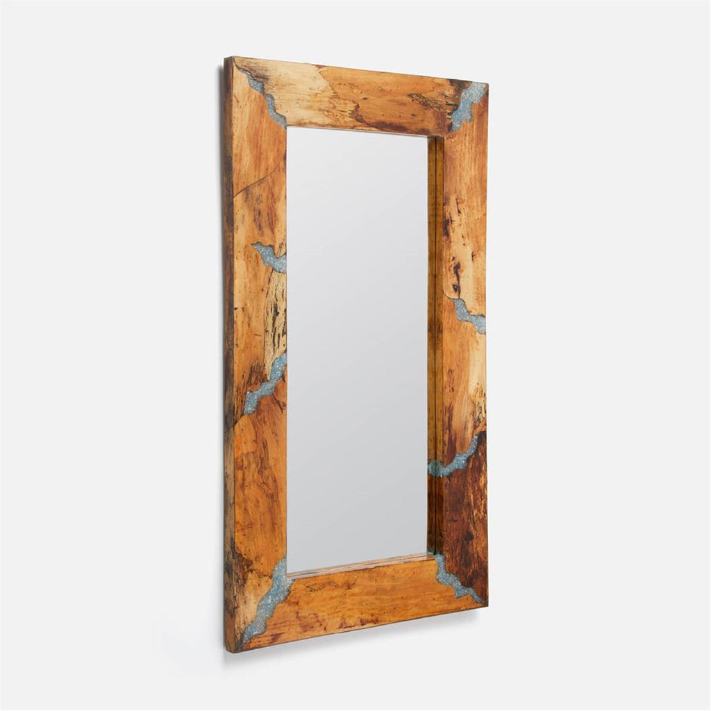 Made Goods Olander Bold Wood and Resin Mirror