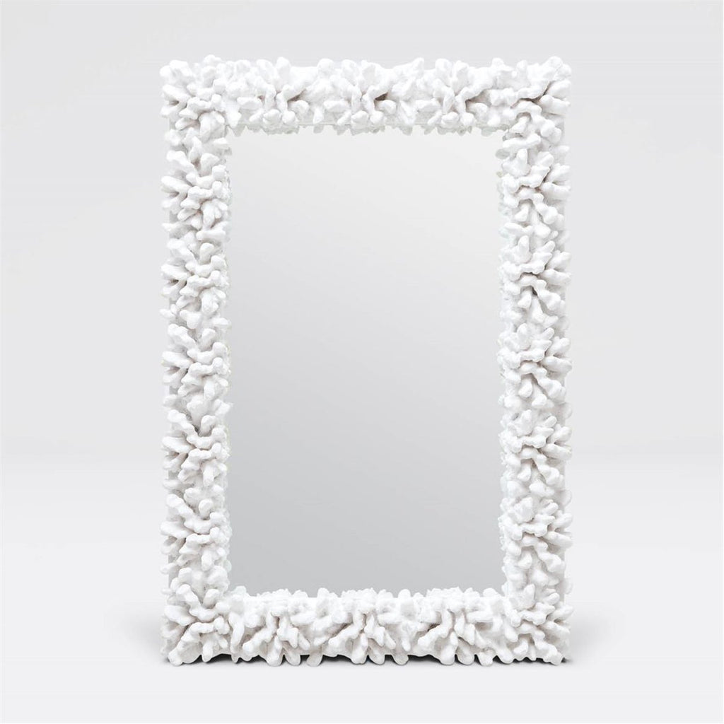 Made Goods Ophelia Rectangular Faux Coral Mirror