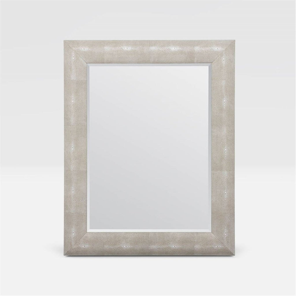 Made Goods Sabine Domed Realistic Faux Shagreen Mirror
